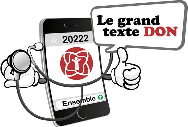 Retour en force du Grand texte don!